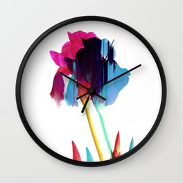 Glitches Iris Wall Clock