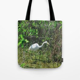 Bird Walking By Tote Bag