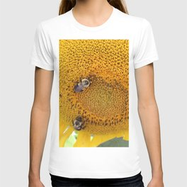 Sunflower with Bees T-shirt