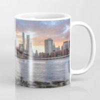 dumbo Mugs featuring New York from DUMBO by RaulCano