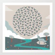 QQ Art Print