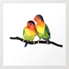 Love Bird. Art Print