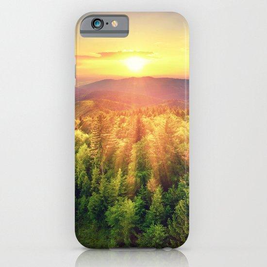 majestic sunrise iPhone & iPod Case