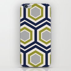 Hexagons and Zigzags iPhone & iPod Skin