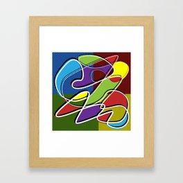 Doodle 04 Framed Art Print