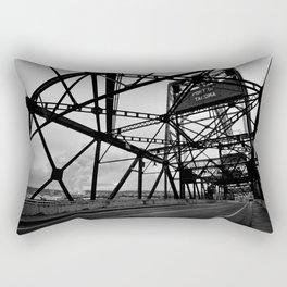 Port of Tacoma 11th St. Bridge Rectangular Pillow