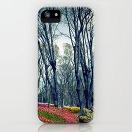 tulip park in Istanbul iPhone Case