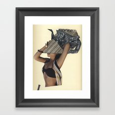 I hate it when she just randomly says french words...I mean she's from Ohio. Framed Art Print