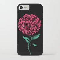 beauty and the beast iPhone & iPod Cases featuring Beauty And The Beast by Anwar Rafiee