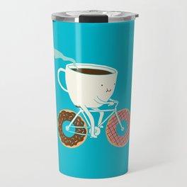Coffee and Donuts Travel Mug