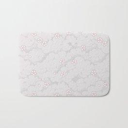 Kumori Nochi Sakura: Pink Bath Mat