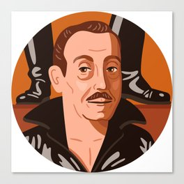 Queer Portrait - Tom of Finland Canvas Print