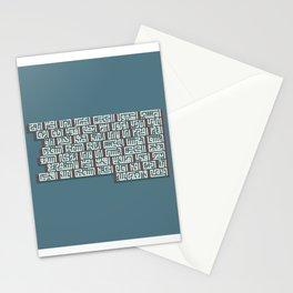 Kufi Poem Stationery Cards