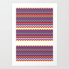 UFOlk 7 Art Print