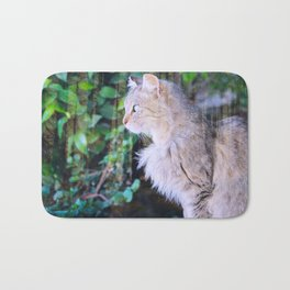 Cat to Dream With Bath Mat