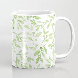 Leaves and Berries   Original Greenery Palette Coffee Mug