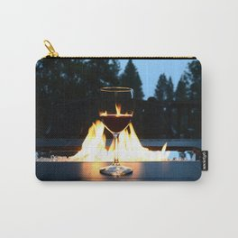 Fireside Wine I Carry-All Pouch