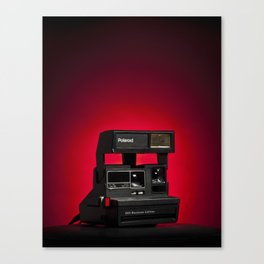 Polaroid 600 Canvas Print