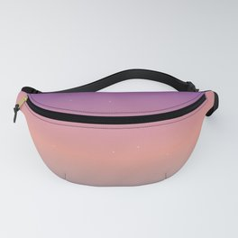 Starry Ombre Sky Gradient Pattern 4 Fanny Pack