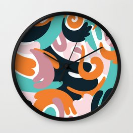 Smash Wall Clock