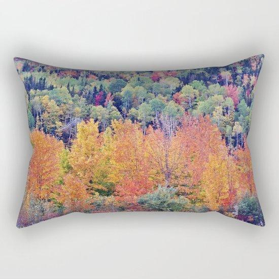Paint By Nature - Fall Foliage Rectangular Pillow