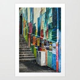 Basel Walls Art Print