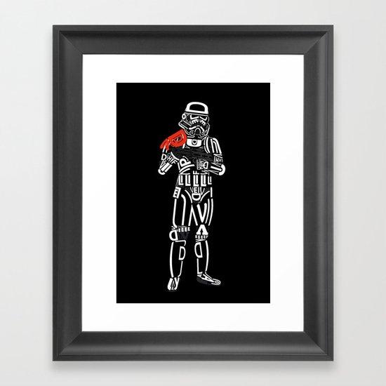 sanstrooper Framed Art Print
