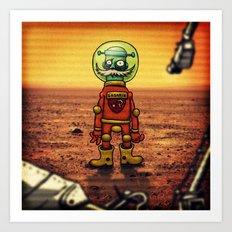 Gagarin Art Print