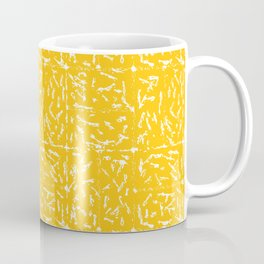 Crosshatch - Mustard Coffee Mug
