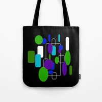 community Tote Bags featuring Community by lillianhibiscus
