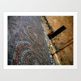 Working with Angles Art Print