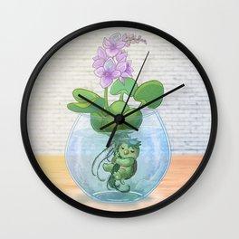 Kappa terrarium Wall Clock