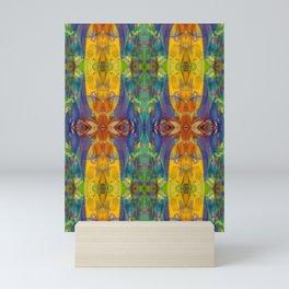 Blue Rainbow Mini Art Print