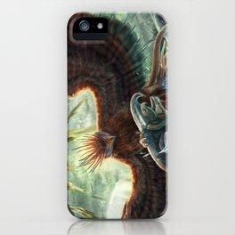 Scorpion Tailed Hawk iPhone Case
