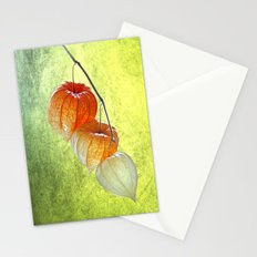 Physalis sprig Stationery Cards