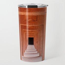 Agra architecture Travel Mug