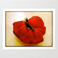 big ol' berry  Art Print