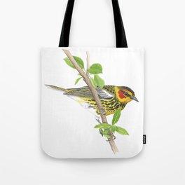 Cape May Warbler Tote Bag