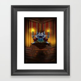 Another Bright Idea by Topher Adam 2017 Framed Art Print
