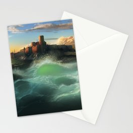 The Cemetery of the Chateau D'if Stationery Cards