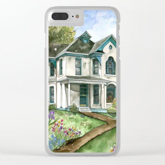 Garden House Clear iPhone Case