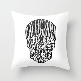 SKULLGRAM Throw Pillow