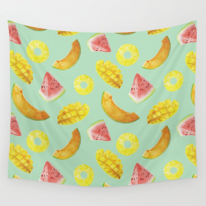 Nature's Candy Pattern Wall Tapestry