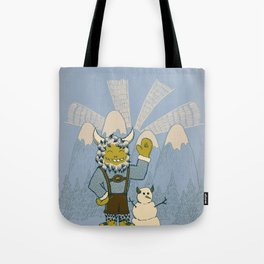 Winter In Germany Tote Bag