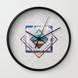 Refreshing heat Wall Clock