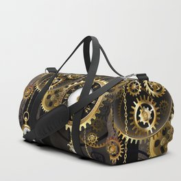 Antique Clock with Keys ( Steampunk ) Duffle Bag