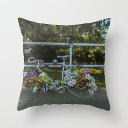 """Remember Alice 02"" (2017) Throw Pillow"