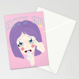 Pretty Sick - Freak Show Stationery Cards