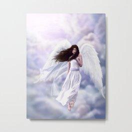 Some Clouds Have Wings Metal Print
