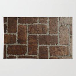 Brick Pattern in Spain Rug